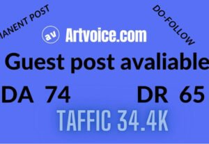 5087Guest post on artvoice.com do follow back link